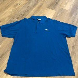 Lacoste Blue Polo - Size L